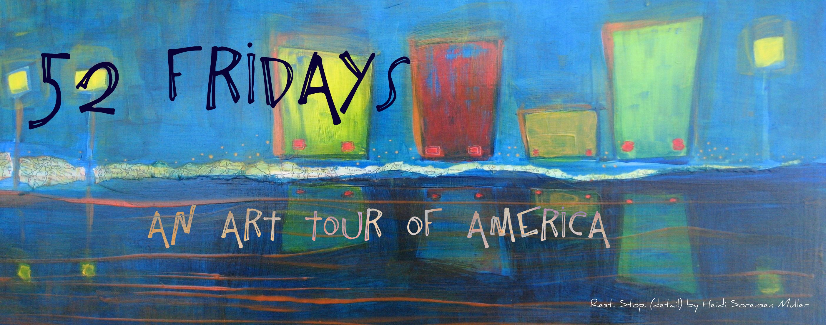 Art tour of american states