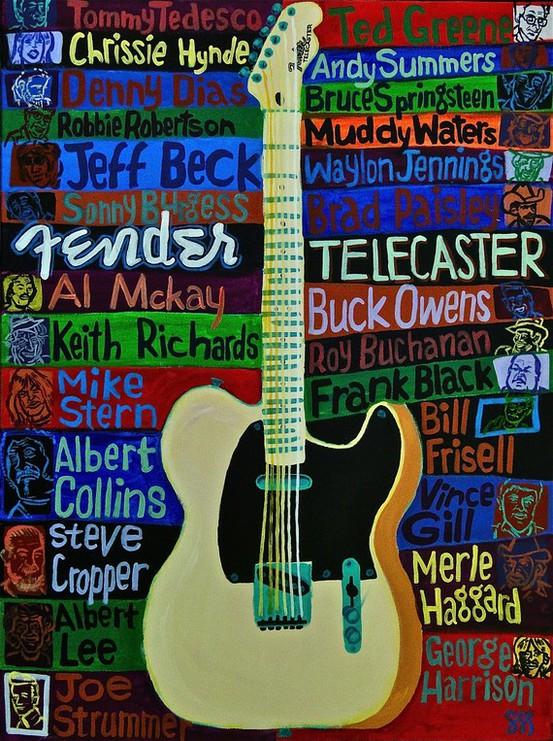 fender telecaster art