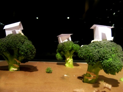 broccoli tree houses