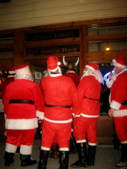 Christmas Santa suits