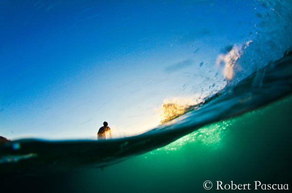 Hawaiian surf photography