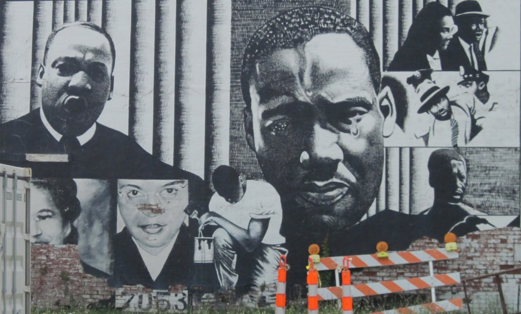 martin luther king street art