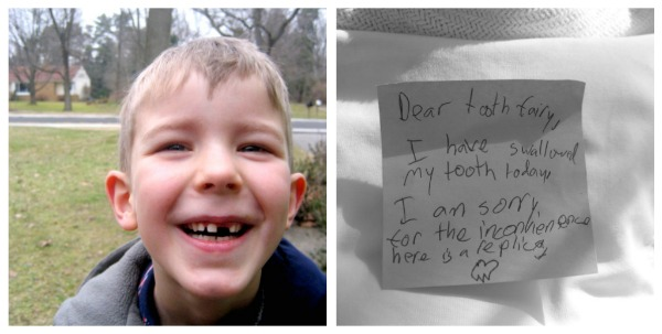 kids first tooth loss